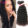 Dark Light Brown Peruvian Deep Wave Virgin Hair Cheap Human Hair Weave Peruvian Deep Curly Hair Bundles Natural Hair Extensions
