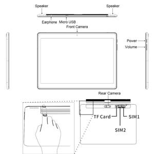 Image 5 - CHUWI オリジナル Hi9 空気タブレット Pc アンドロイド 8.0 MT6797 X23 デカコア 4 ギガバイトの RAM 64 ギガバイト ROM 4 グラムタブレット 2 18K スクリーンデュアル 8000 Mah の 10.1 インチ