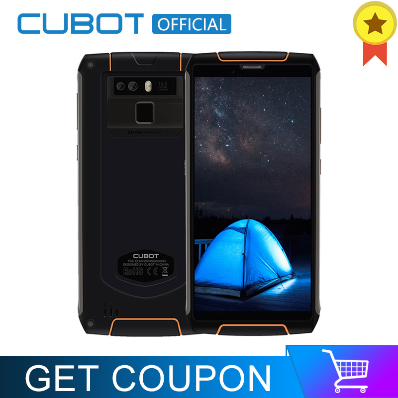 Cubot King Kong 3 IP68 Waterproof Smartphone Android 8.1 4GB 64GB MT6763T Octa Core Cellular 5.5