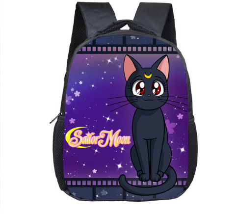 12 Inch Cute Cat Totoro Sailor Moon Backpacks Schoolbags Girls Boys Children School Bags Kindergarten Toddler Backpack