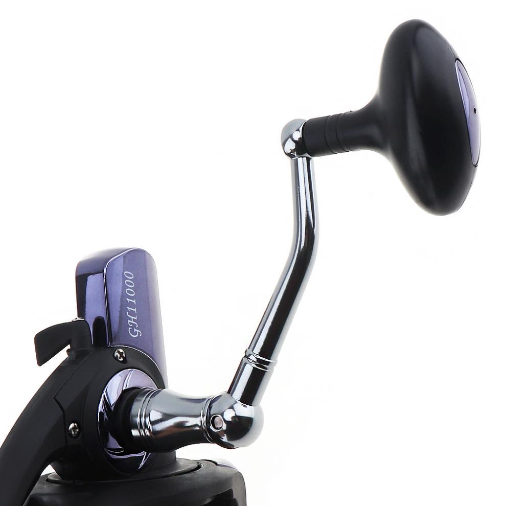 longo tiro fundição girando roda com metal cheio cnc balancim