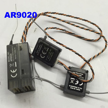 AR9020 9CH RC Receiver W/ 2pcs Satellite Remote Extension SPMA R8000 DX9 DX8 DX6I Radio for helicopter Quadcopters receiver