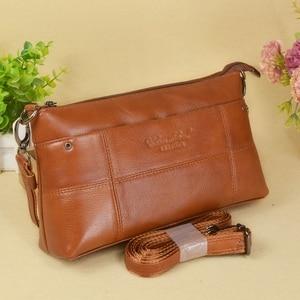 Image 3 - กระเป๋าถือสตรีกระเป๋าหนังแท้สุภาพสตรีกระเป๋า Crossbody ขนาดเล็กสำหรับหญิง Messenger กระเป๋า Bolsas