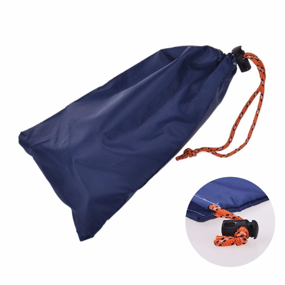 Portable Outdoor Travel Camping Small Bag Oxford Cloth Drawstring Storage Pouch Hiking Climbing Bicycle Repair Tools Bags