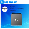 Nueva TX8 Android 6.0 Amlogic S912 Octa core Set top box 2G 32G Android TV Box HDMI H.265 WIFI Media Player Smart tv caja