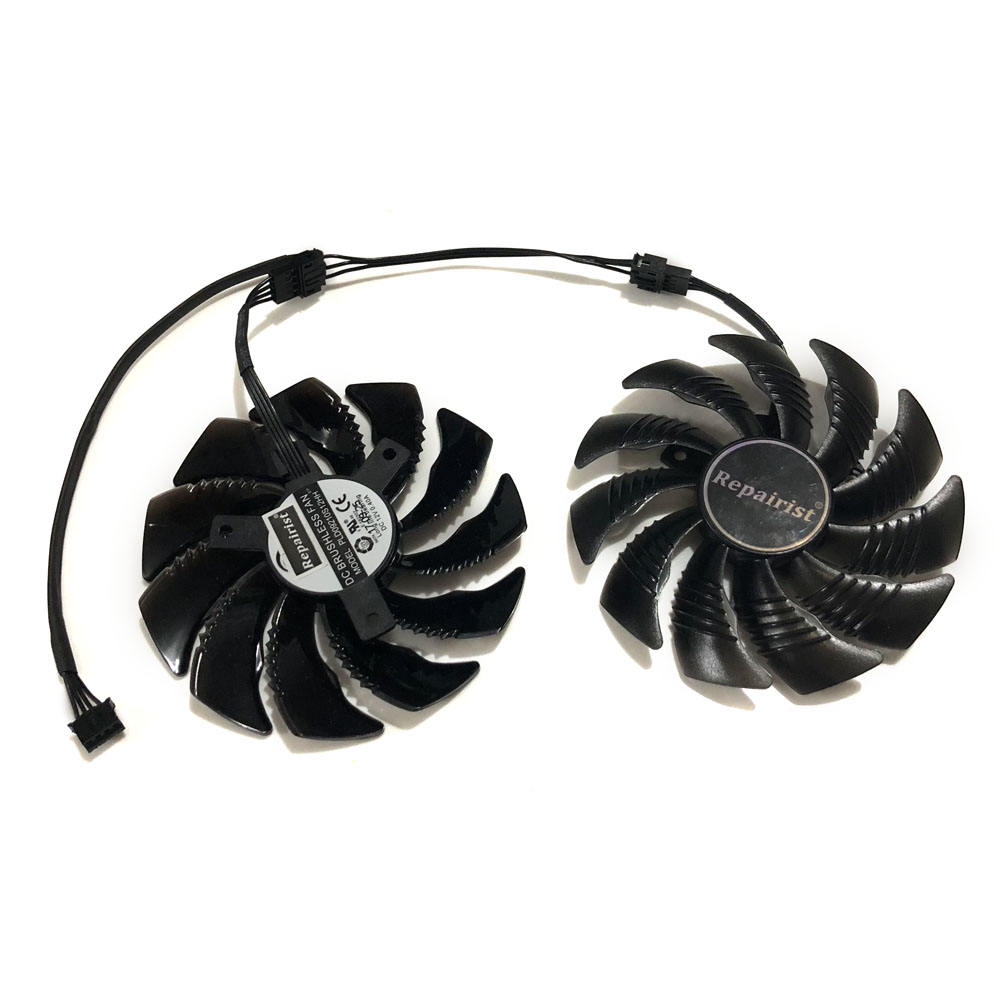AORUS RX580/570 GPU Cooler Graphics card fan for REDEON GIGABYTE GV-RX570AORUS GVRX580AORUS As Replacement