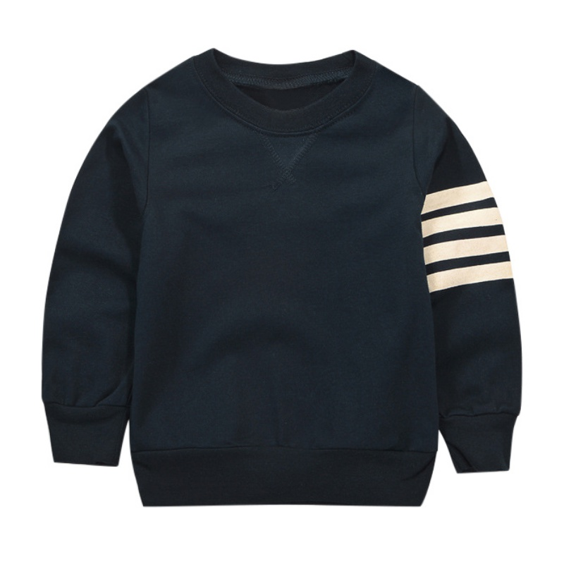 2017 Spring autumn long sleeve hoodies for children tops children's sweatshirts baby clothing boy stripe boys shirts