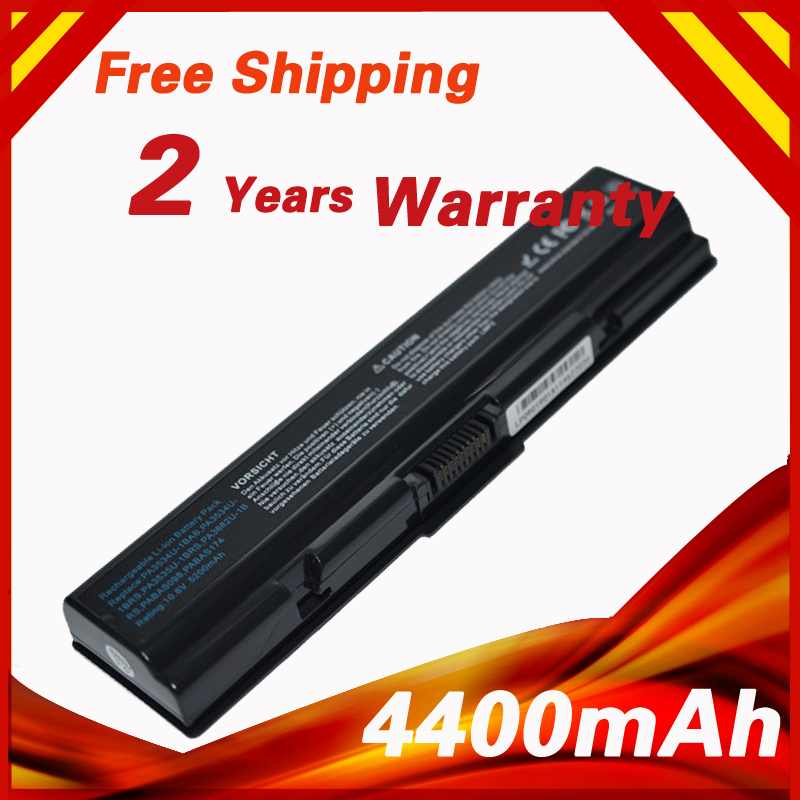 Laptop Battery PA3533U-1BAS for Toshiba Satellite L200 L300 L305D L450D L500 M206 M207 L505 L550 A300 A500 pa3534 PA3534U-1BRS new us keyboard black for toshiba satellite a500 a505 p200 p300 p505 l500 l505 l535 l550 l350 x505 x500 f501 laptop us keyboard