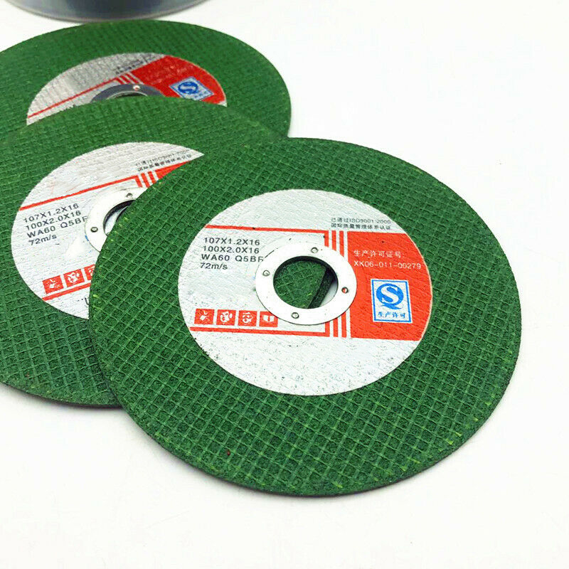 4 Thin Resin Cutting Grinding Discs Wheel For Cut Off Steel Metal Angle Grinder