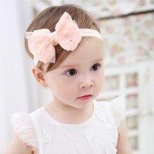 Повязка на голову для маленькой девочки Детские аксессуары для волос одежда band в звездочку для новорожденных Головные уборы тиара на голову для малышей ясельного возраста повязка для волос