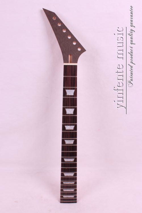New left High Quality Unfinished electric guitar neck Solid wood Body & fingerboard model 1pcs #19