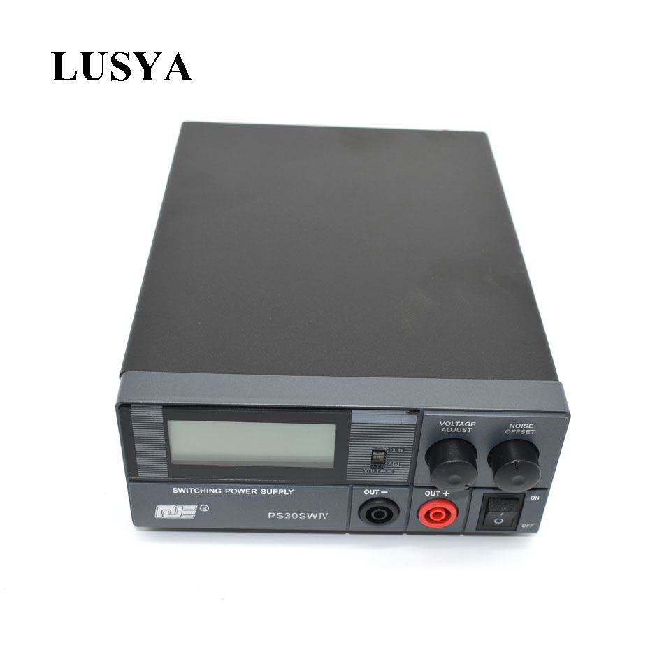 Lusya Ham radio short wave base station refinement communication power supply 13 8V 30A PS30SWIV 4