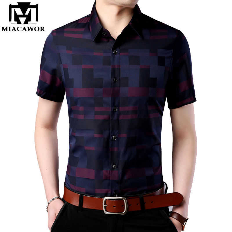 Vska Mens Silm Fit Short Sleeve Causal Fashion T-Shirts Summer Polo Shirt