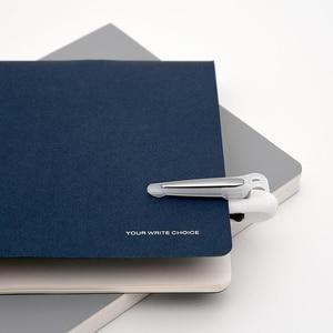 Image 5 - Youpin KACO stylo multifonction 4 en 1 s 0.5mm noir bleu vert rouge recharge stylo Gel stylo mécanique cil encre japonaise bureau école