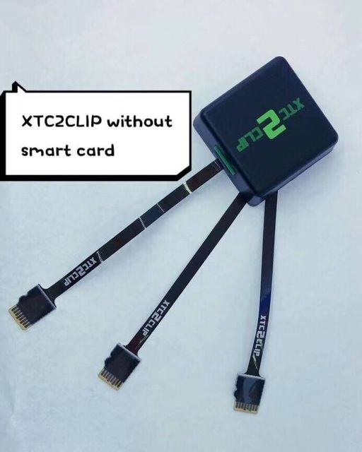 US $48 0 |gsmjustoncct The Newest version 100% Original Xtc 2 Clip Box  without smart card -in Telecom Parts from Cellphones & Telecommunications  on
