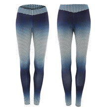 Polyester Printed Gradient Workout