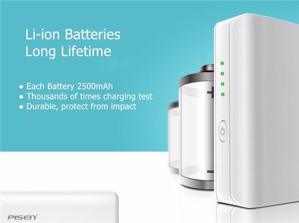 PISEN Li-ion Power Bank 10000 mAh (14)