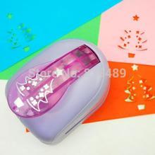 Albero di natale di carta taglierina di carta del mestiere del punzone stampa di carta shaper punch perfurador de papel para artesanato S2920