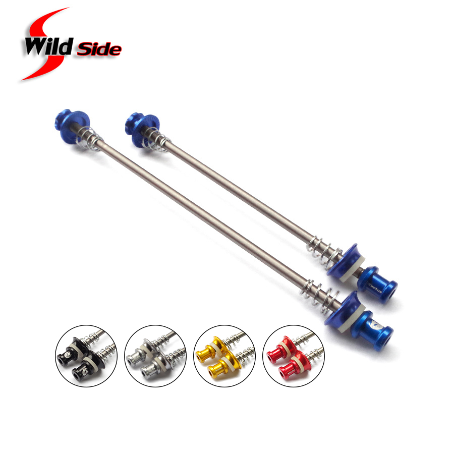 35G Quick Release Skewers Bike Cycling Titanium Axle Aluminum Road MTB Bicycle Skewers Cycling Accessories Size 100/130/135mm
