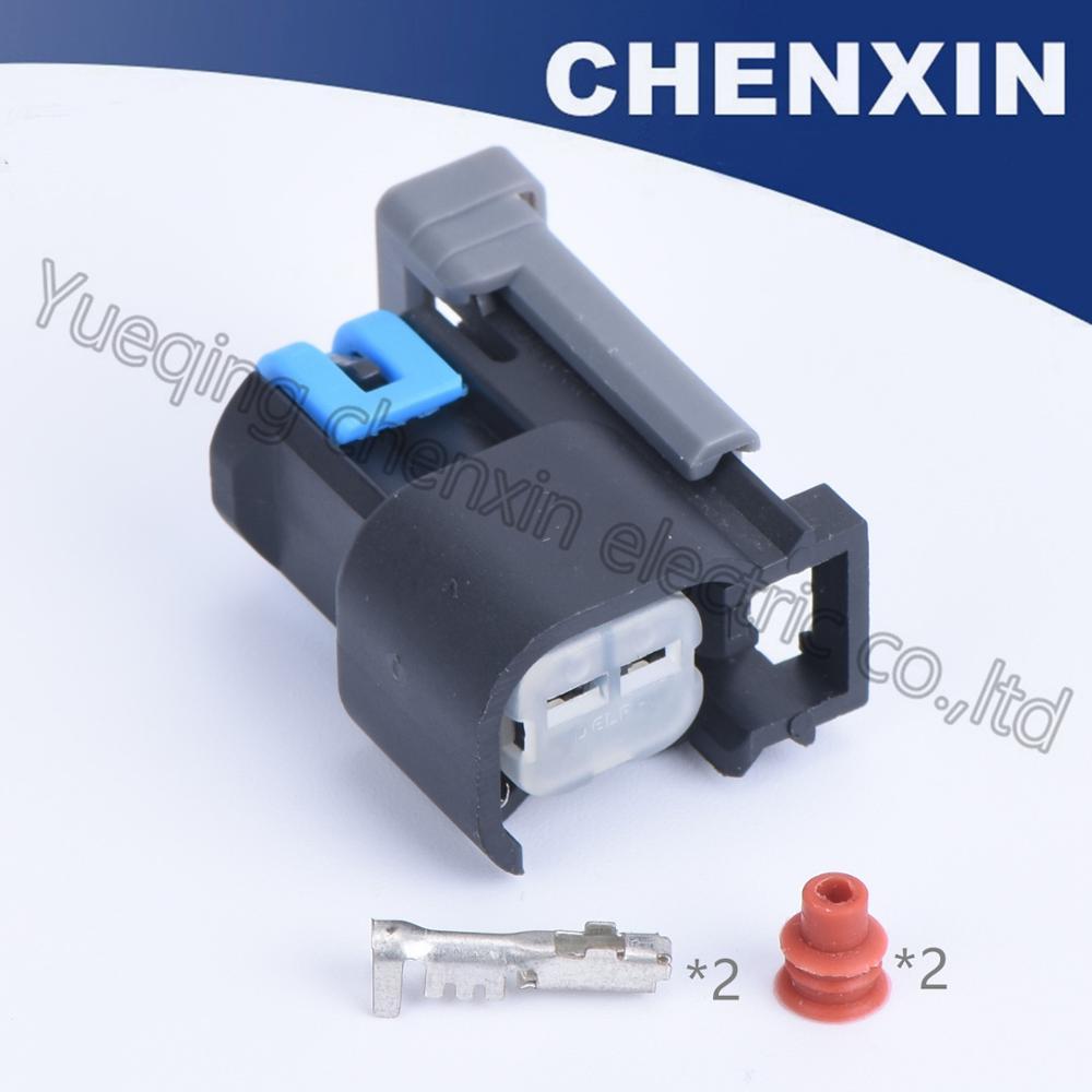 Aliexpress Com   Buy Black 2 Pin Female 1 5  Wire Harness Sealed Auto Connectors Car Automotive