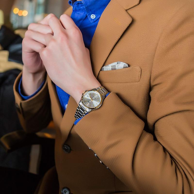 Casio pointer series fashion casual quartz male watches MTP-