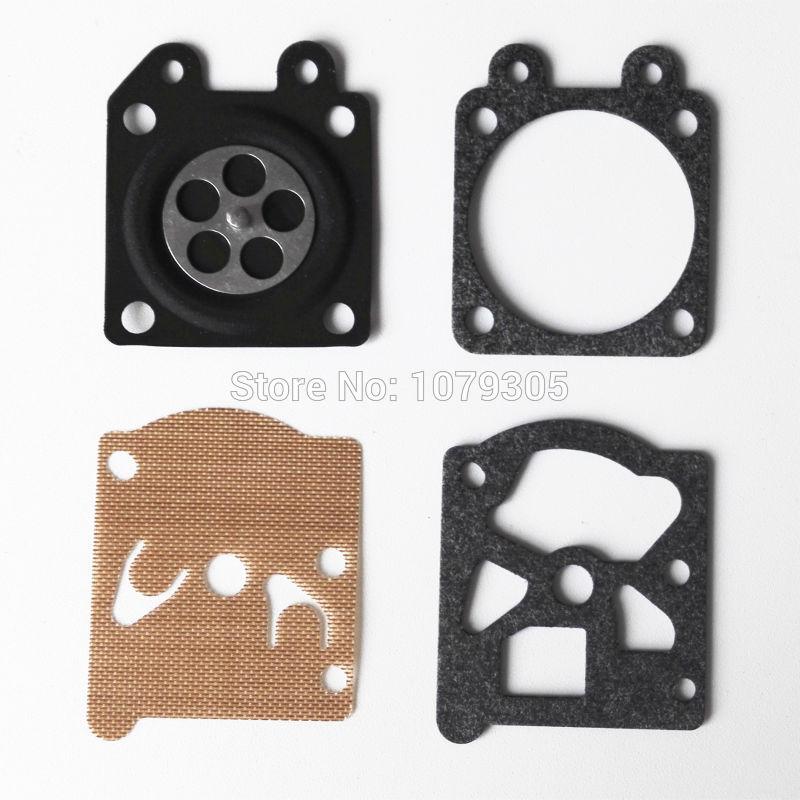 5 комплектов бензопилой 3800 4500 5200 5800 диафрагма карбюратора комплекты для ремонта прокладок