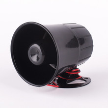 Car Van Truck 6 Tone Loud Security Alarm Siren Horn 12V/Freight car alarm horn hot selling цена