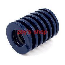 40mm x 20mm x 50mm Dark Blue Chromium Alloy Steel Compression Die Spring