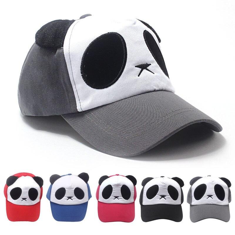 FEITONG unisex Cotone Simpatico Panda Berretto da baseball Del Cappello del  Cotone di Modo colorato cappelli