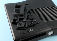 OCGAME High quality Black Full protective Housing Shell Case for XBOX360 xbox 360 Slim console system