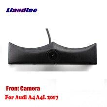 Liandlee CAM AUTO Per Audi A4 A4L 2017 2018 Auto Vista Frontale Della Macchina Fotografica Logo Incorporato Bilnd Spot (non Retromarcia Telecamera Posteriore di Parcheggio)