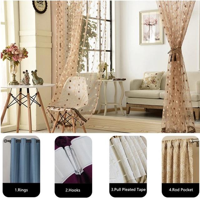 Curtain Fabrics Window Tulle 6