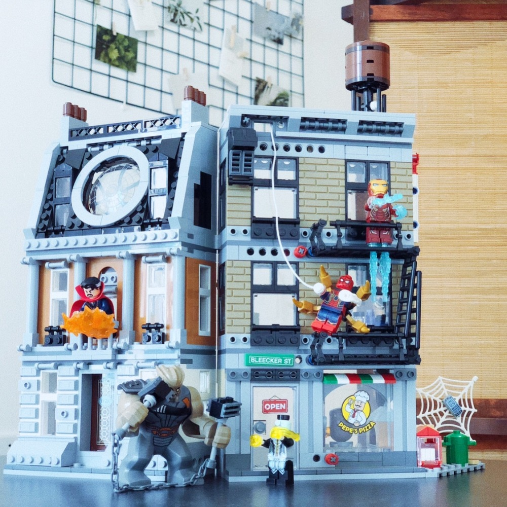 Marvel Super héros Sanctum Sanctorum Showdow blocs de construction ensemble film classique jouets enfants compatibles Legoings