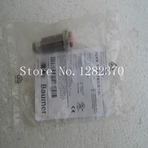 все цены на [SA] New original authentic special sales Baumer sensor switch IGYX 18P17B3 / S14L spot --2PCS/LOT