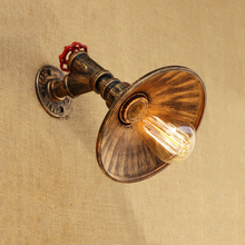 Vintage Iron wall lamp E27 lighting fixtures living room bedroom corridor aisle porch pub bar club cafe light loft bra sconce retro chinese wall lamp wall sconce antique wood parchme stair aisle corridor bedroom living room cafe lamp e27 wall light bra