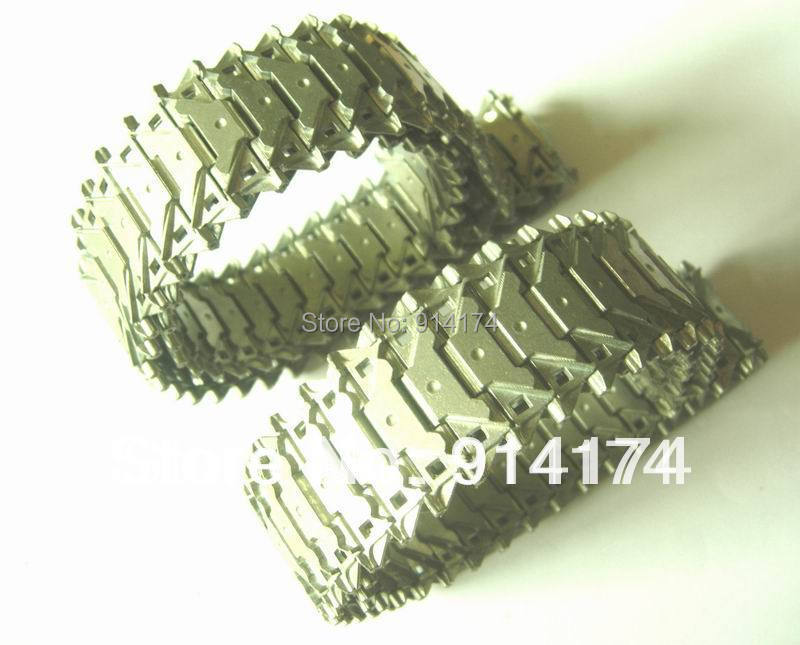 henglong 3839/3839-1 US M41A3 1/16 RC tank upgrade parts metal track 2pcs/set free shipping henglong 3839 3839 1 us m41a3 1 16 rc tank upgrade parts metal track 2pcs set free shipping