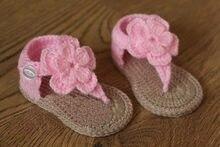 cfb8af37d Envío libre, bebé del ganchillo, sandalias del gladiador del bebé, botines  del bebé, zapatos de bebé, rosa y tan, hecho por enca.