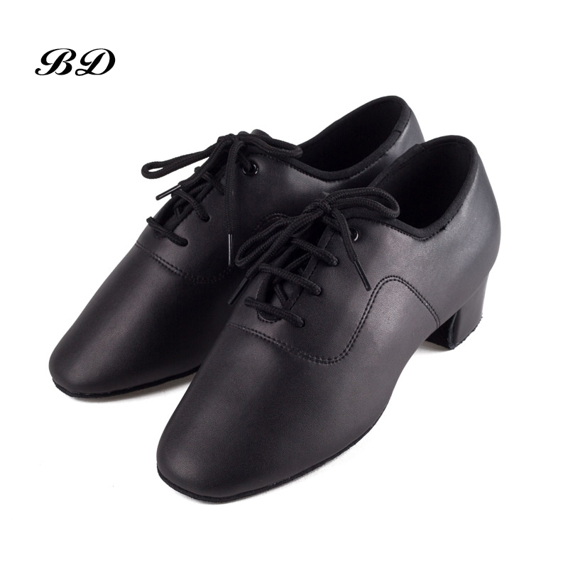 BD 802 Children BOY DANCE SHOES Latin Shoes Ballroom Shoe Modern JAZZ MEN Student Slip-ON Sweat Absorption Deodorant Non-slip