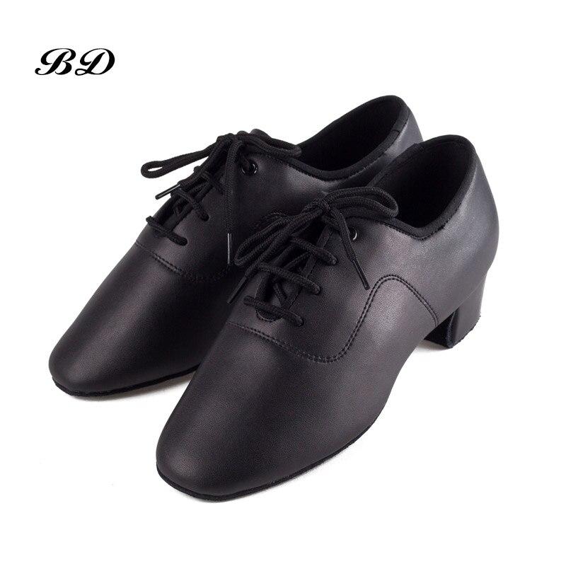 BD 802 enfants garçon chaussures de danse chaussures latines chaussure de salon moderne JAZZ hommes étudiant sans lacet absorption de la sueur déodorant antidérapant