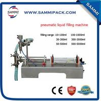 Free Shipping Hot Sale Semi Automatic Pneumatic Liquid Filling Machine For Wine Water Shampoo Oil