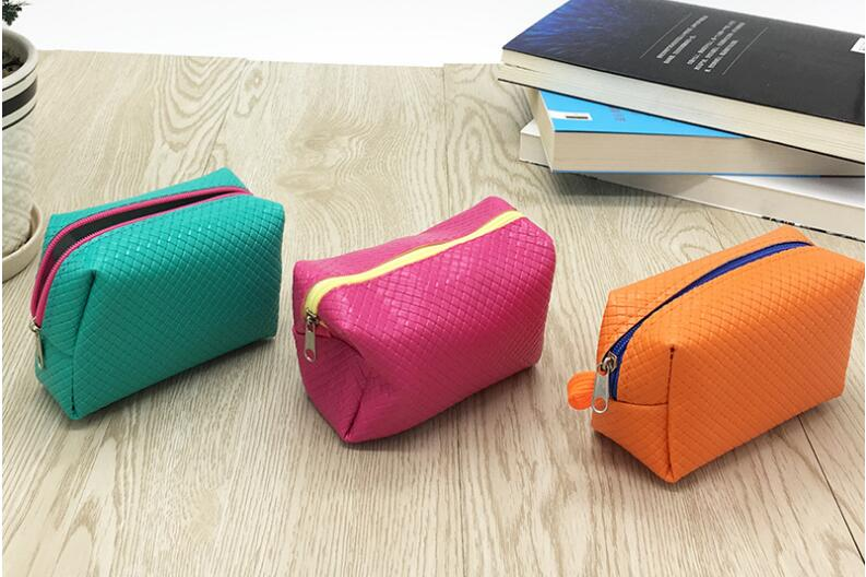 2018 Franbrani Coreano impressione solido della borsa della moneta, sacchetto di tessuto del ricamo raccogliere pacchetto raccoglitore Della Moneta Chiave X