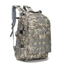 다기능 40L 방수 남자 배낭 학교 가방 패션 3P 위장 배낭 남성 여행 가방 남자 컴퓨터 백팩