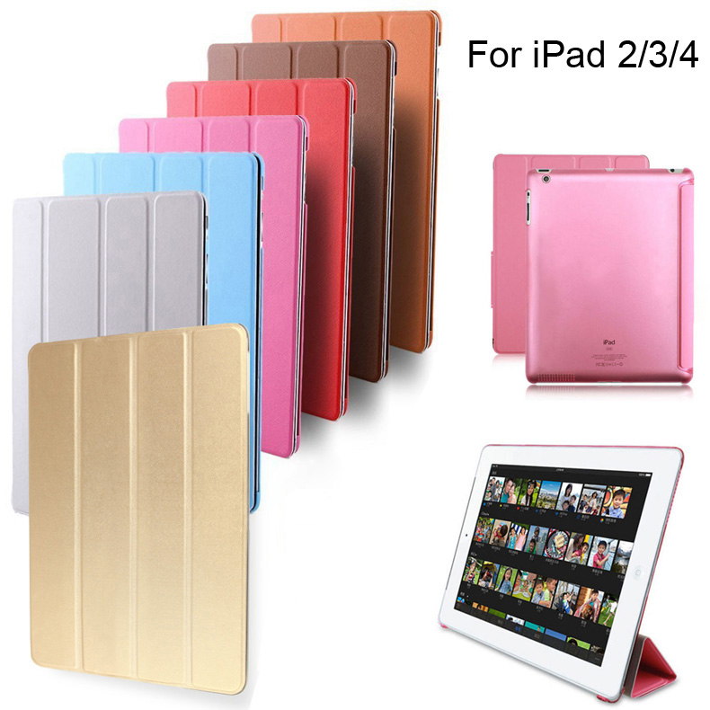 Quality Ultra Slim Magnetic Smart Cover for Apple iPad 2 3 4 with Retina Display PU Leather Case for Apple ipad2 ipad3 ipad4 new for apple ipad 2 3 4 ipad2 ipad3 case table smart cover slim magnetic pu leather stand cases