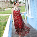 Boho beach clothing bodycon dress floral summer dress floral print sundress dress boho mexican embroidered dress AA1189