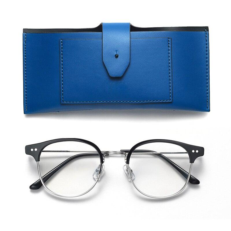 ba6971fe32 Suave, diseñador de marca, los hombres de las mujeres de moda Retro gafas  redondas