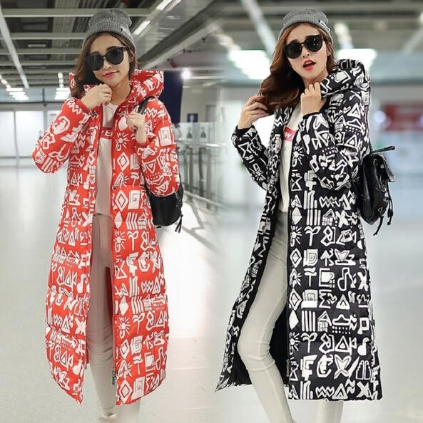 2016 Autumn Winter Women Long Jacket Coat Fashion New Winter Hooded Coat Jackets Down Padded Korean Plus size Slim Jacket,WH0103