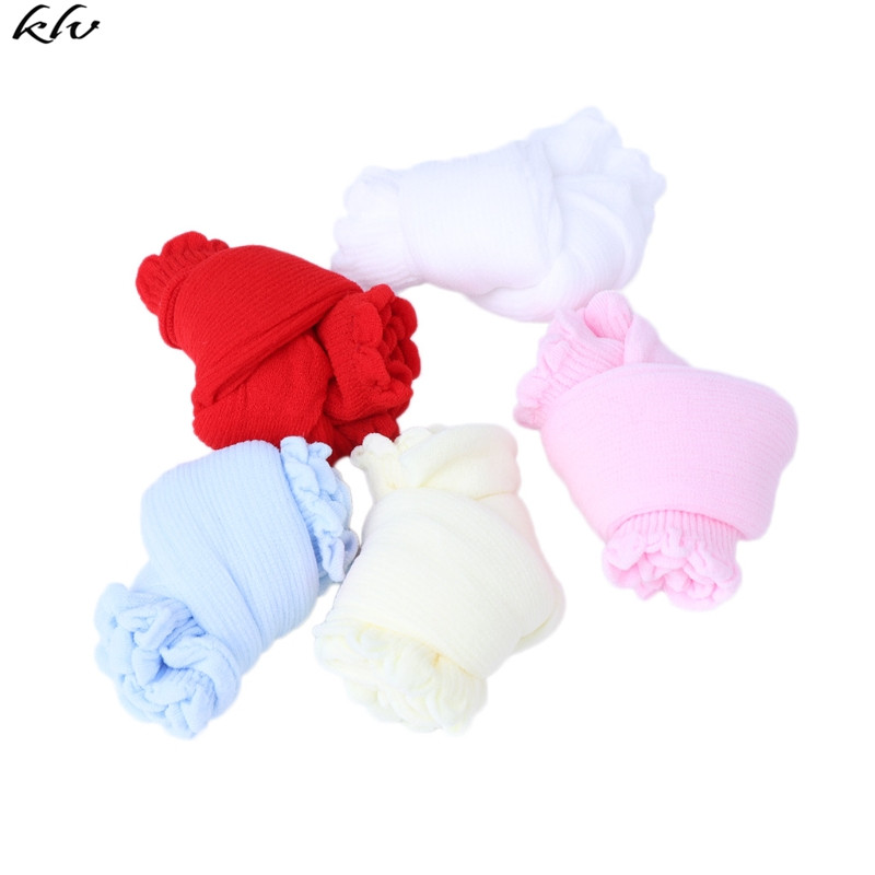 5 Pairs Baby Candy Colors Socks For Newborn Infant Toddler Summer Acrylic Kids