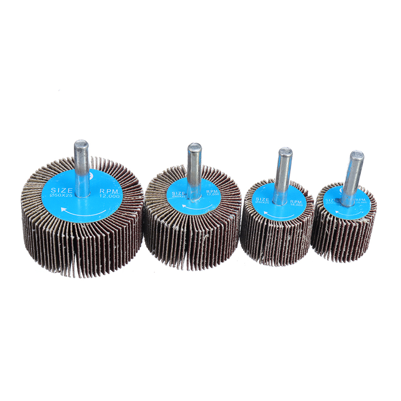 30x Polishing Sanding Disc Set for Dremel Grinding Drill 150 Grit Metal Grinding Attachment 3 mm Handle