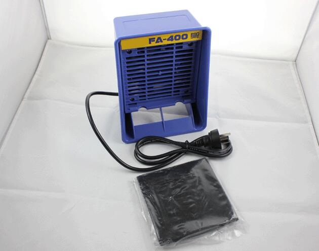 Hakko FA-400 Portable Desktop Type Fume Extractor Solder Smoke Absorber for Soldering Station 110V цена
