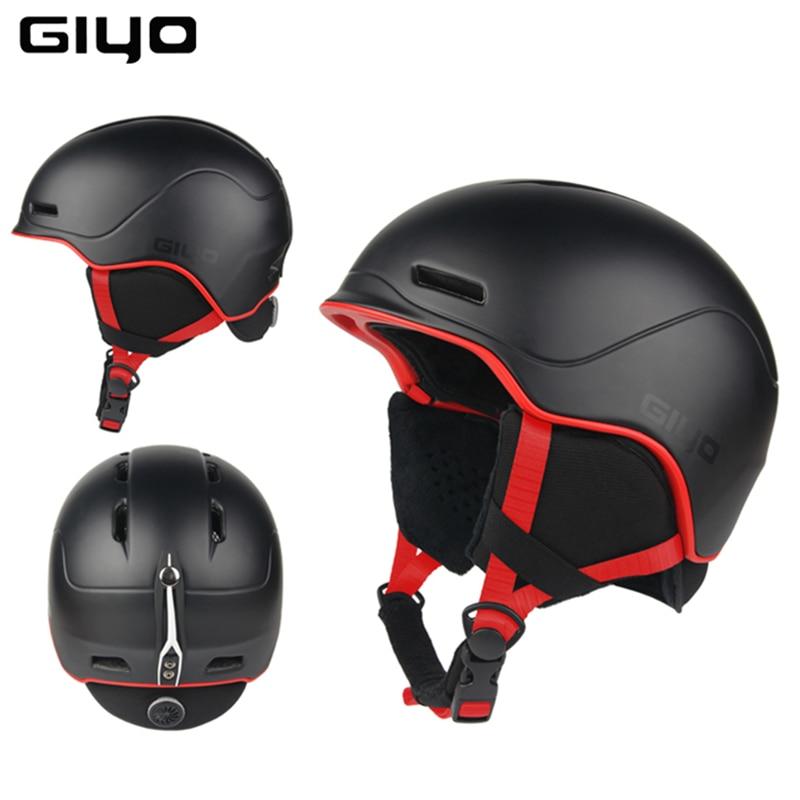 Safety Winter Outdoor Sports Helmet Warm Snowboard Ski Helmets Men Women Light Crash Snow Helmets Integrally-molded Skate Helmet